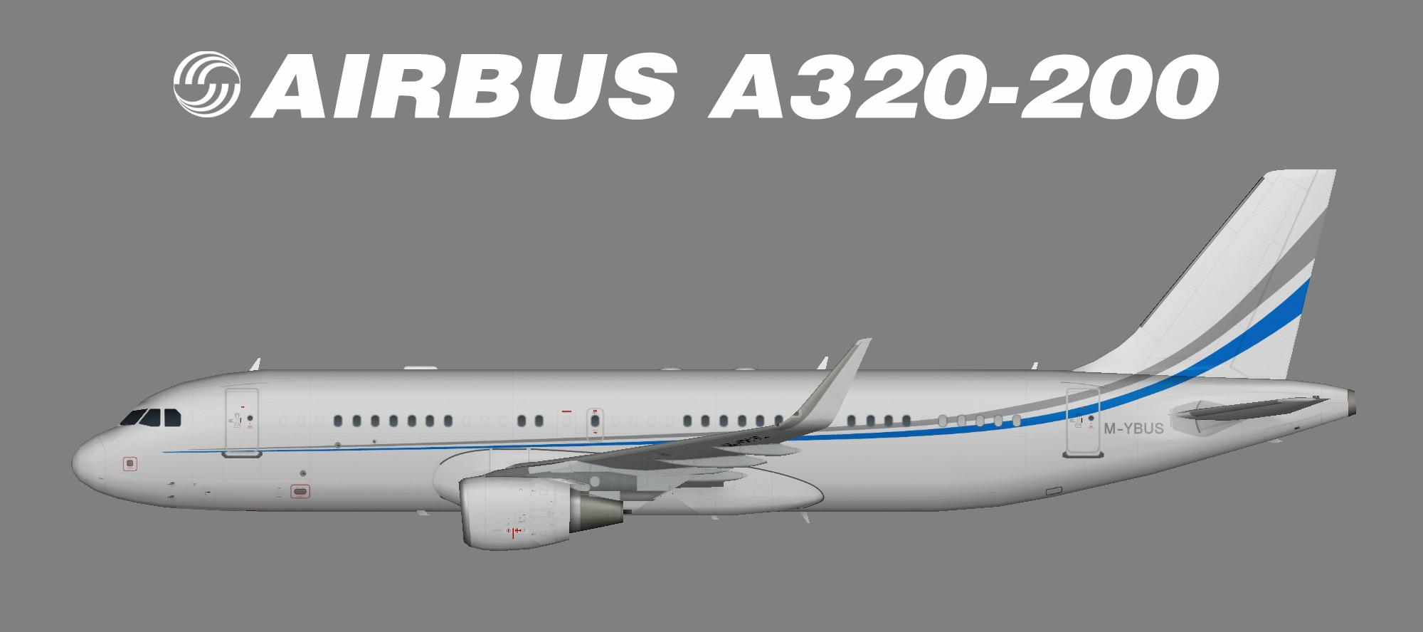 M-YBUS A320-200