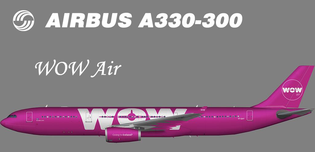 WOW Air Airbus A330-300 – Nils