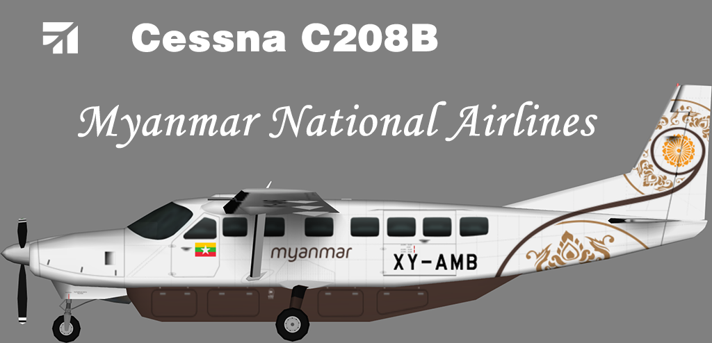 Myanmar National Airlines Cessna C208B – Nils