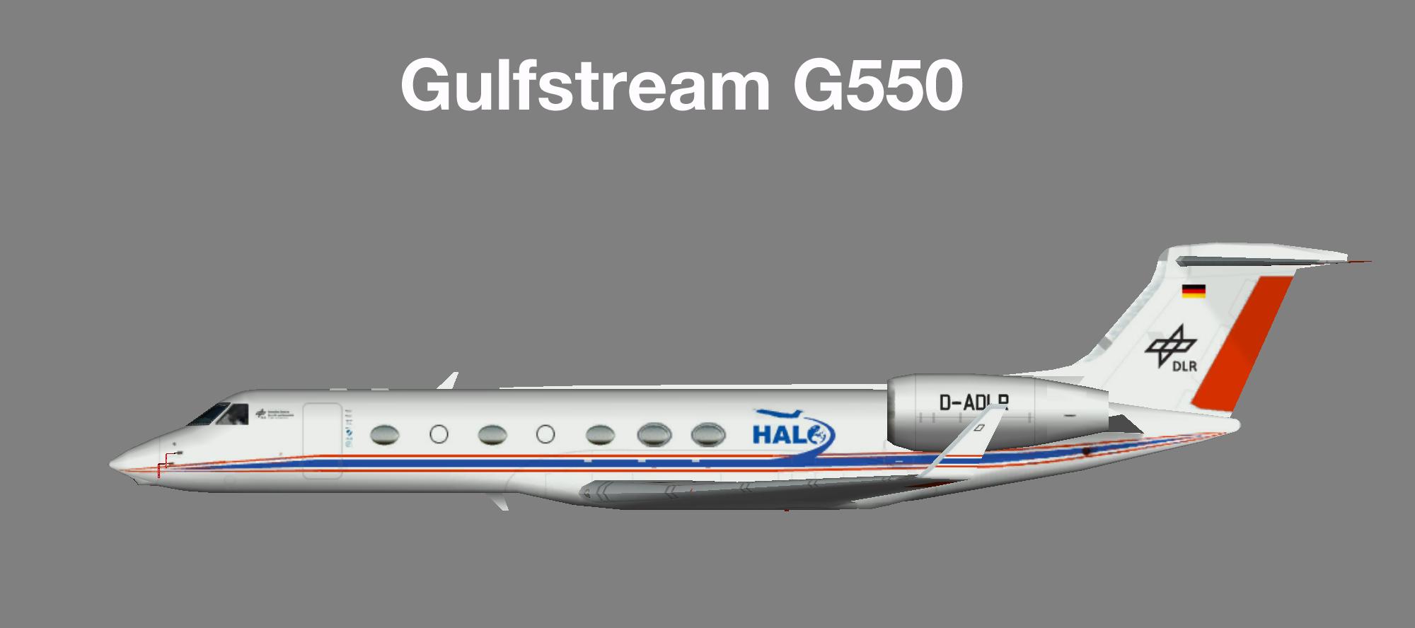 DLR Gulfstream G550