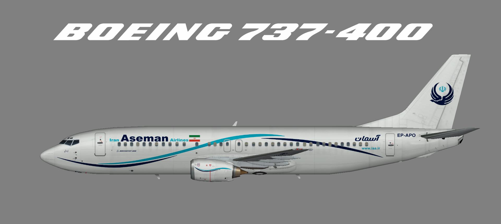 Iran Aseman 737-400