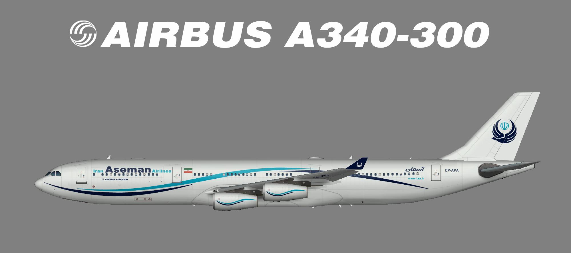 Iran Aseman A340-300