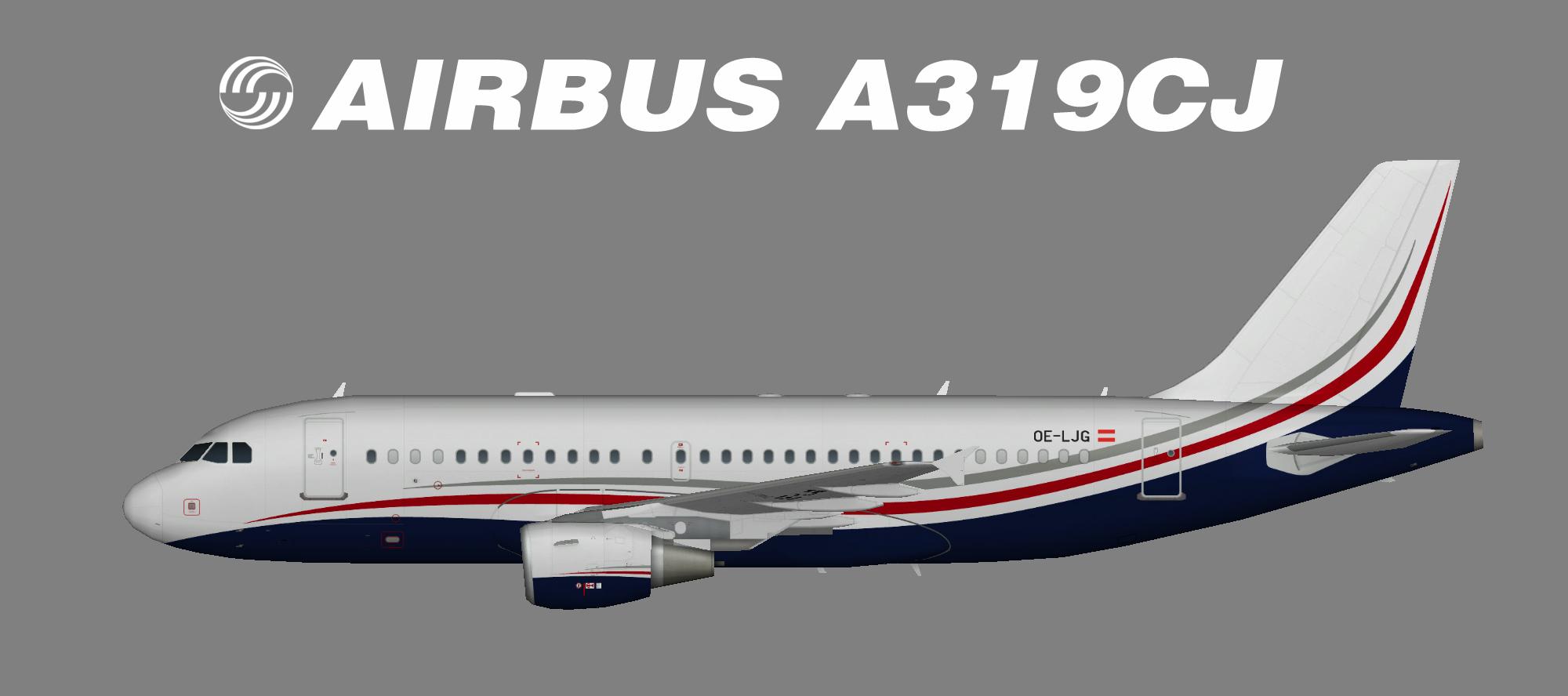 MJet A319-100CJ