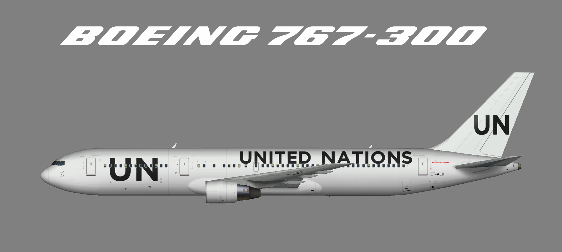 United Nations 767-300