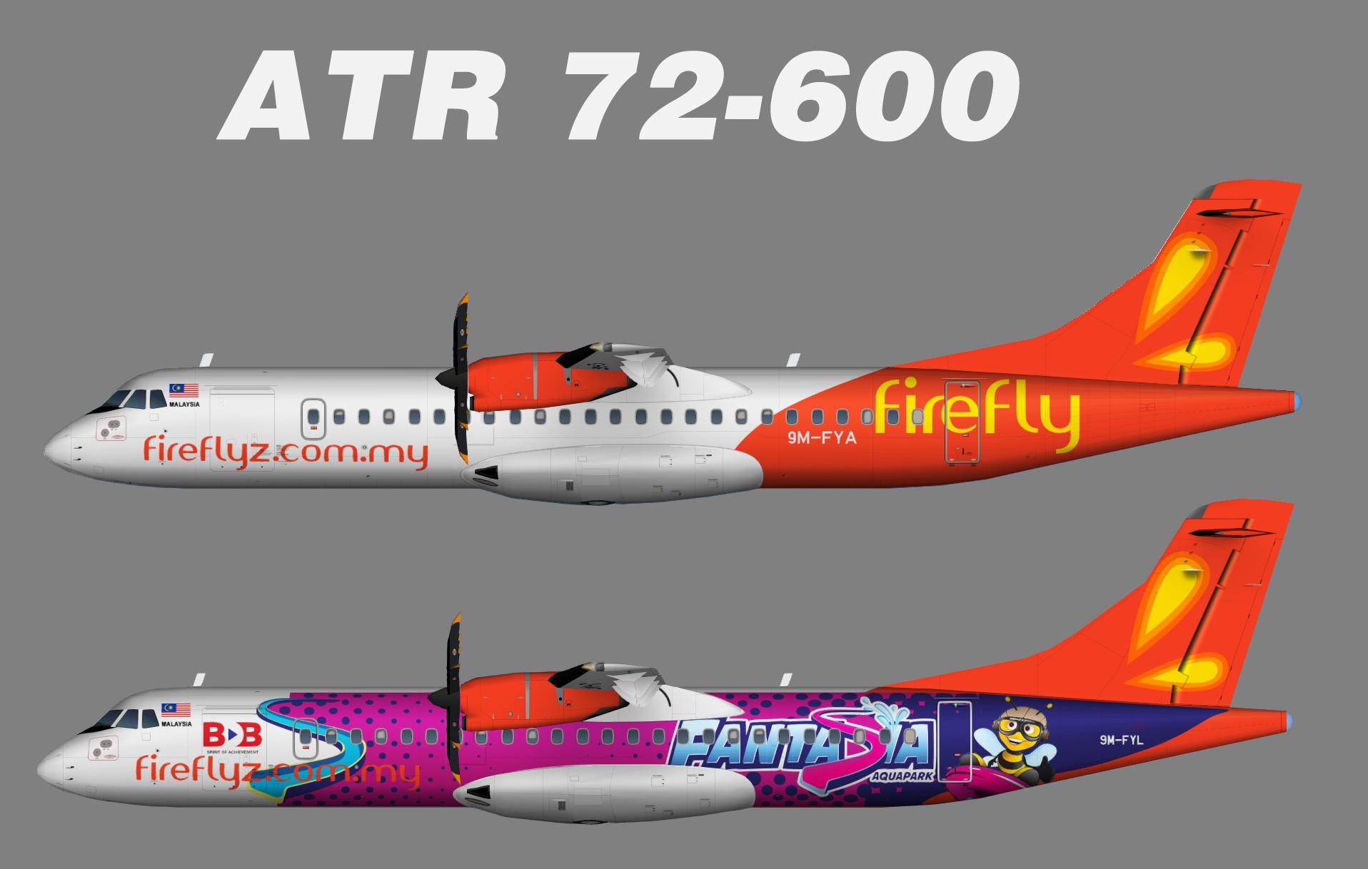 FireFly ATR72-500 -600