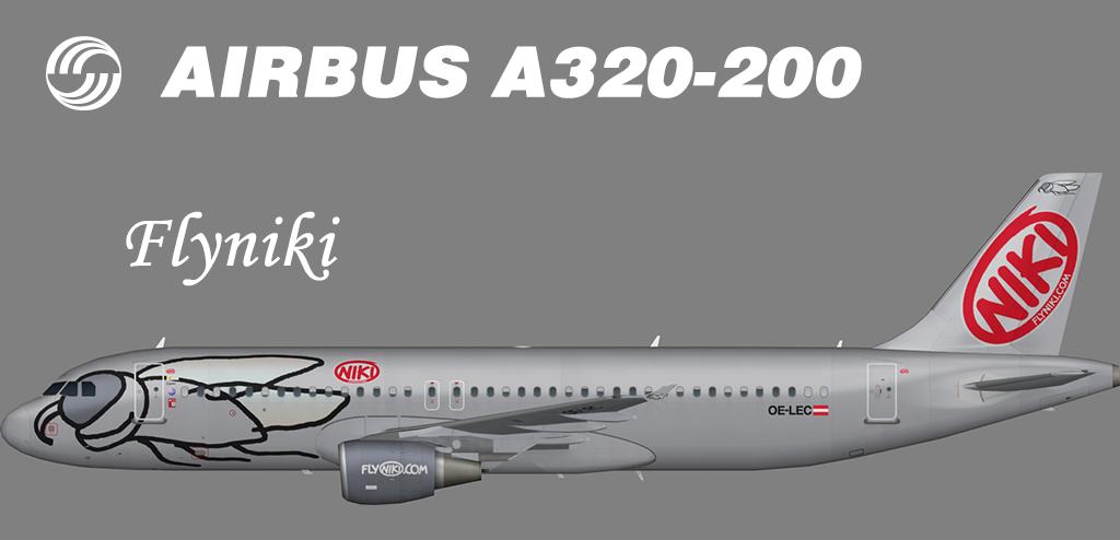 Niki Airbus A320-200 – Nils