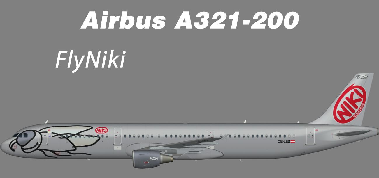 Niki Airbus A321-200 – Nils