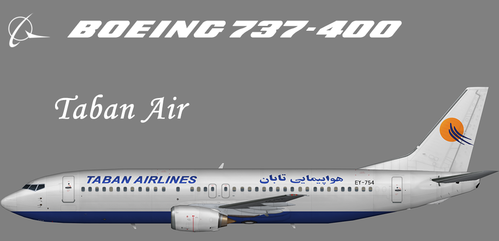Taban Air Boeing 737-400 – Nils