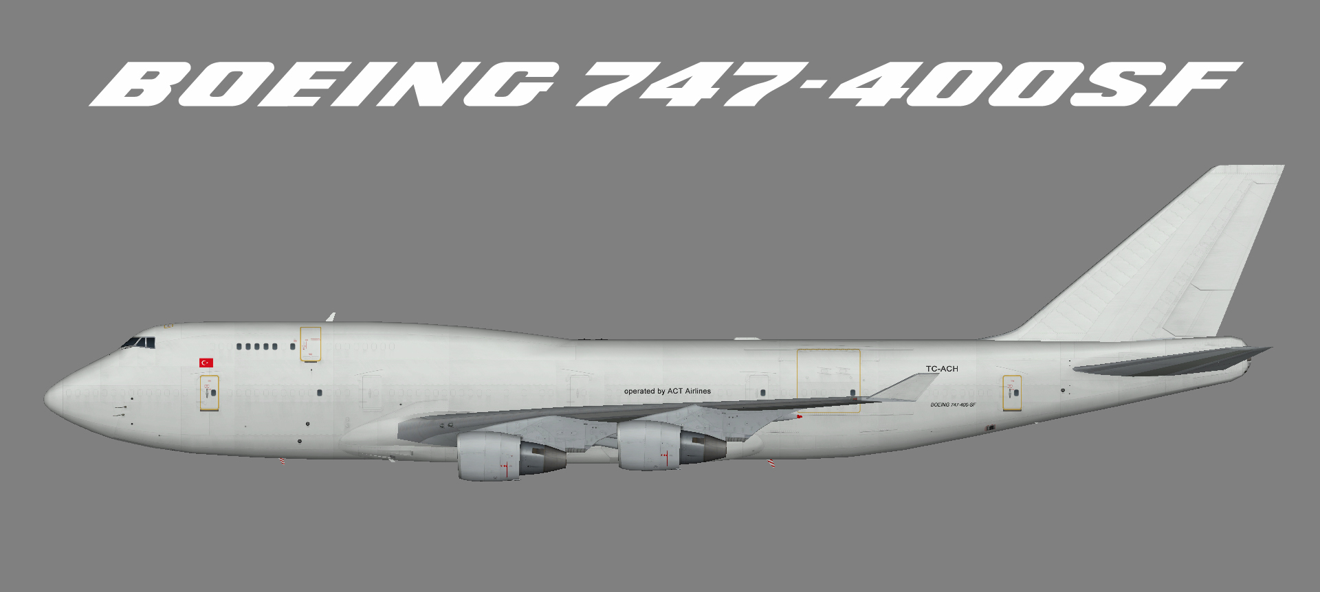 ACT Airlines 747-400SF