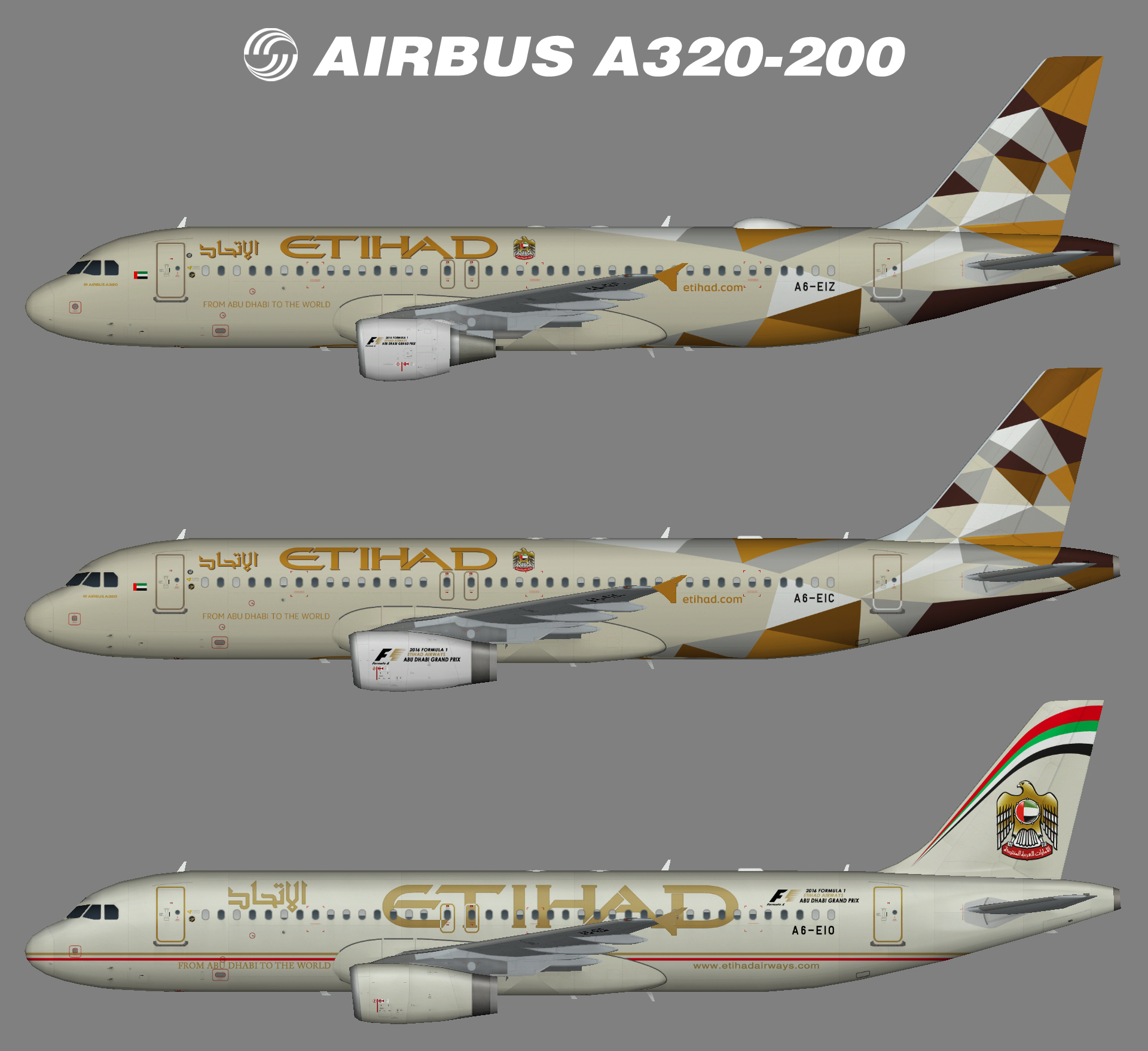 Etihad Airbus A320-200 – Nils