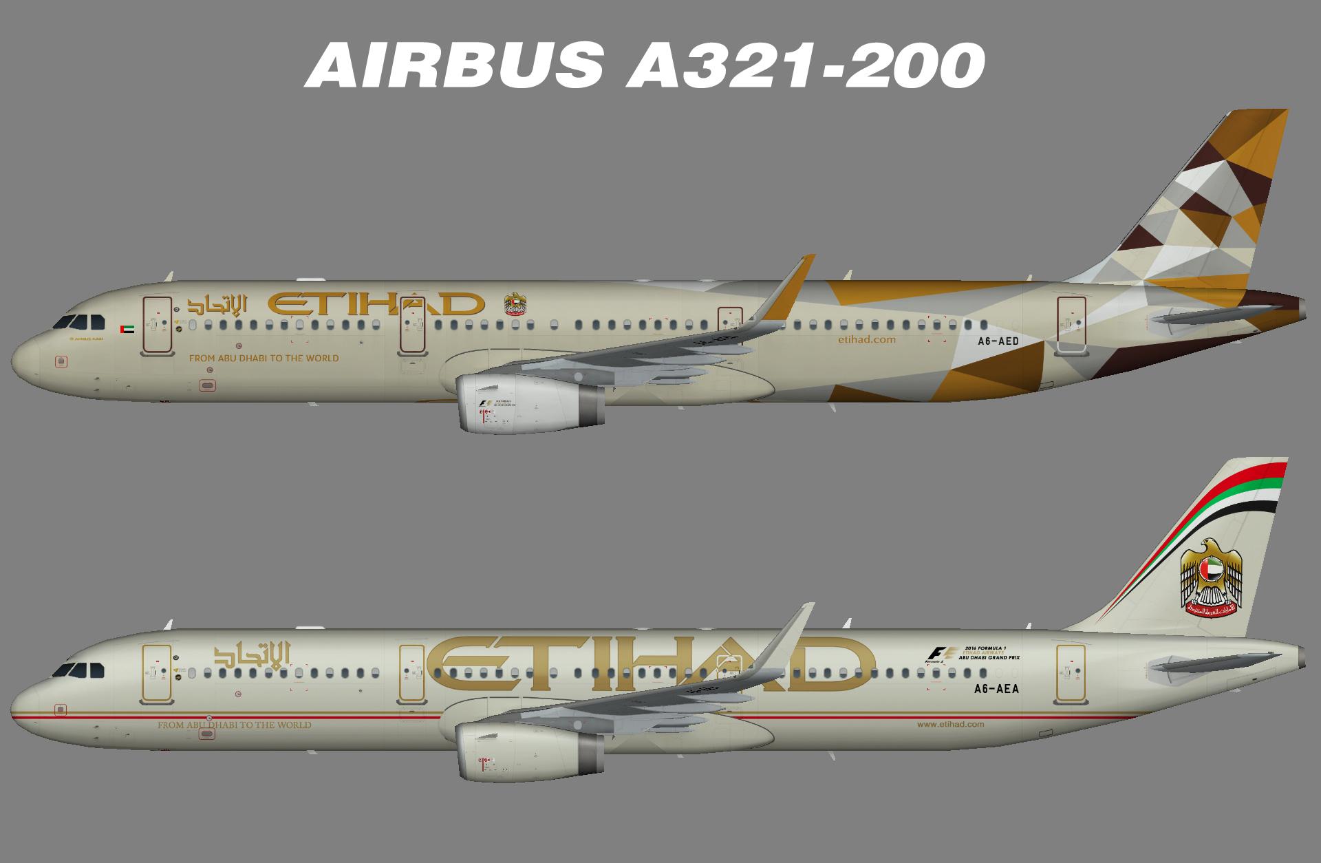Etihad A321-200SL