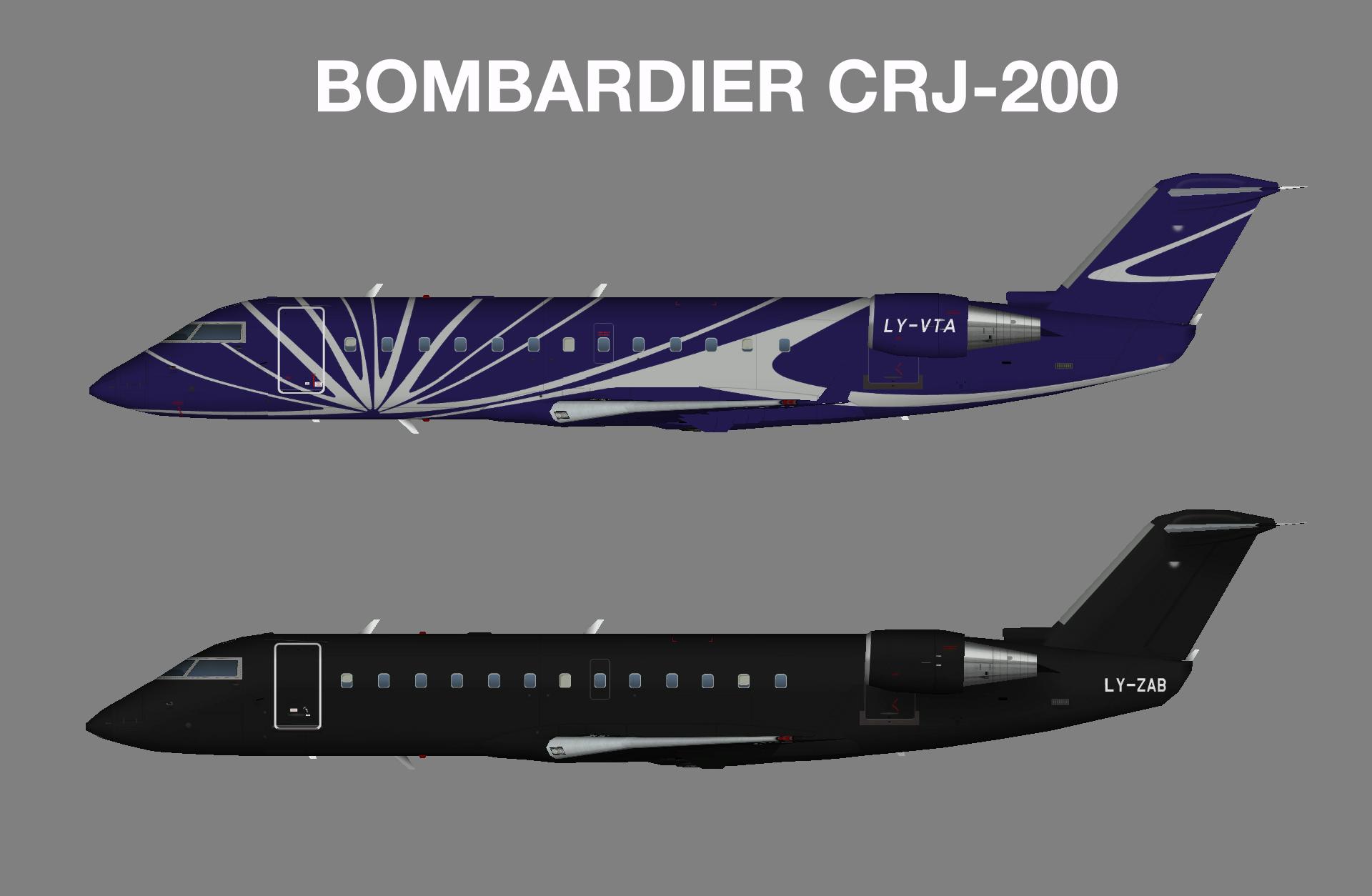 KlasJet CRJ-200