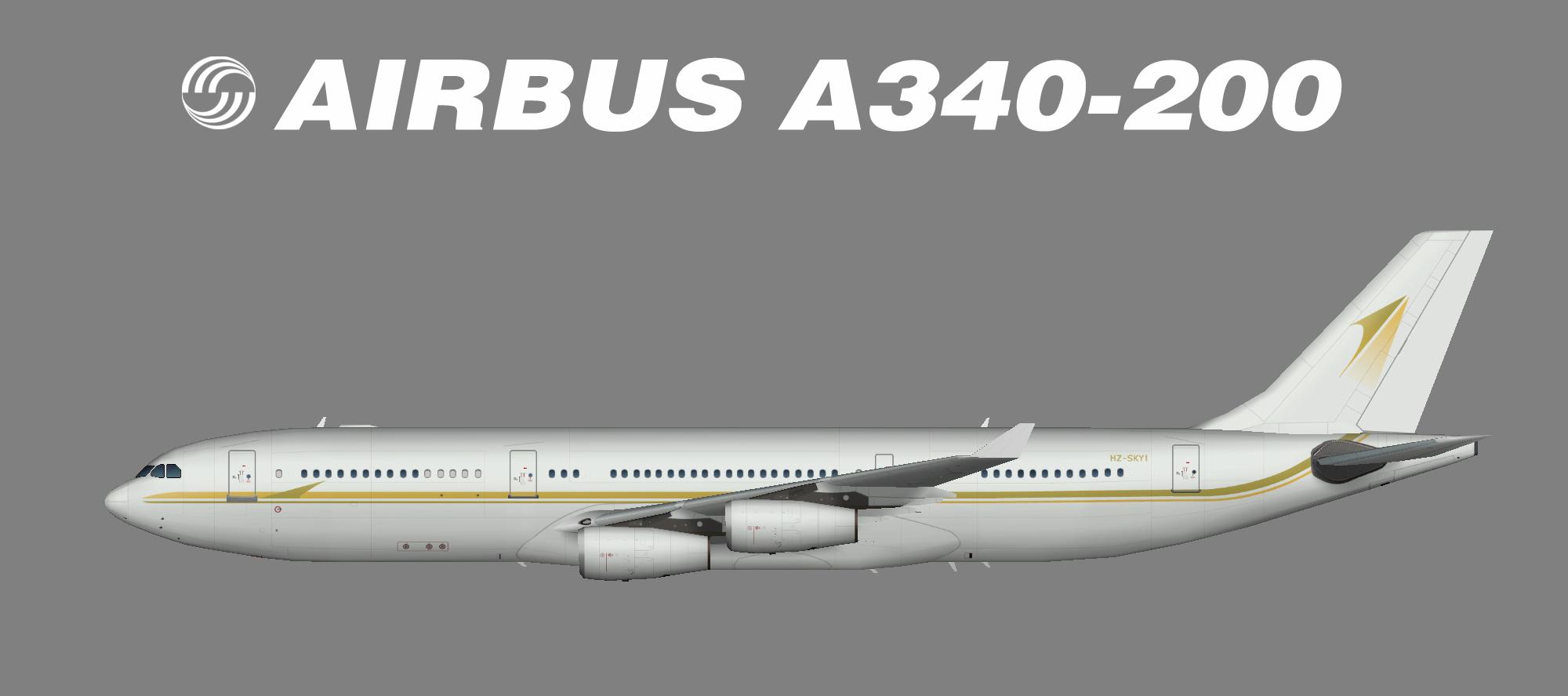 SkyPrime A340-200