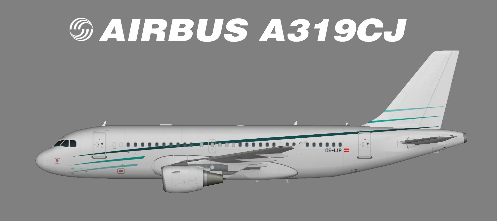 Tyrolean Jet Service Airbus A319-100CJ OC-LIP