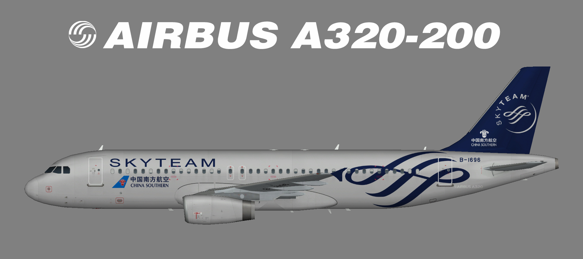 China Southern A320-200 Skyteam