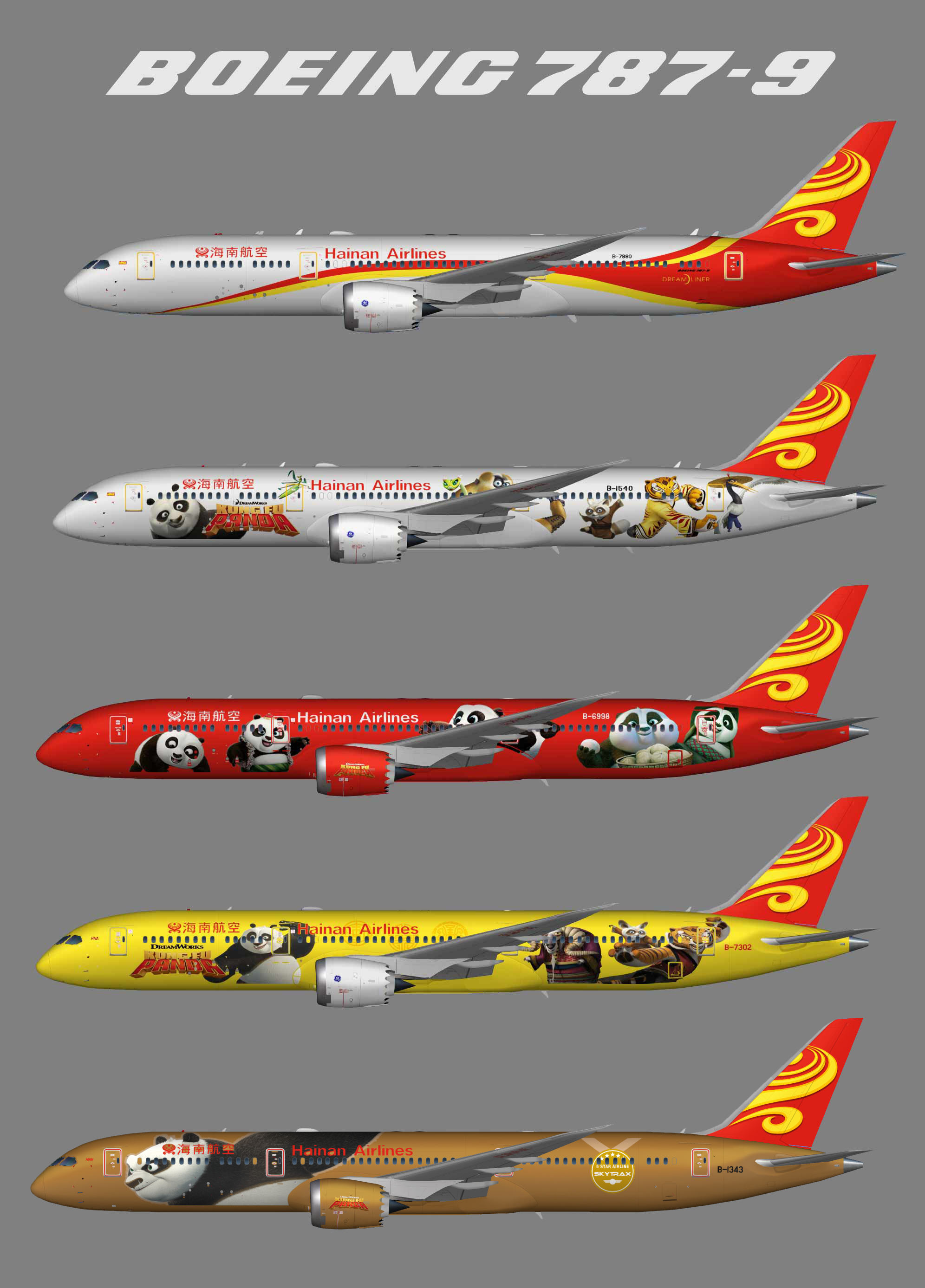 Hainan Airlines Boeing 787-9