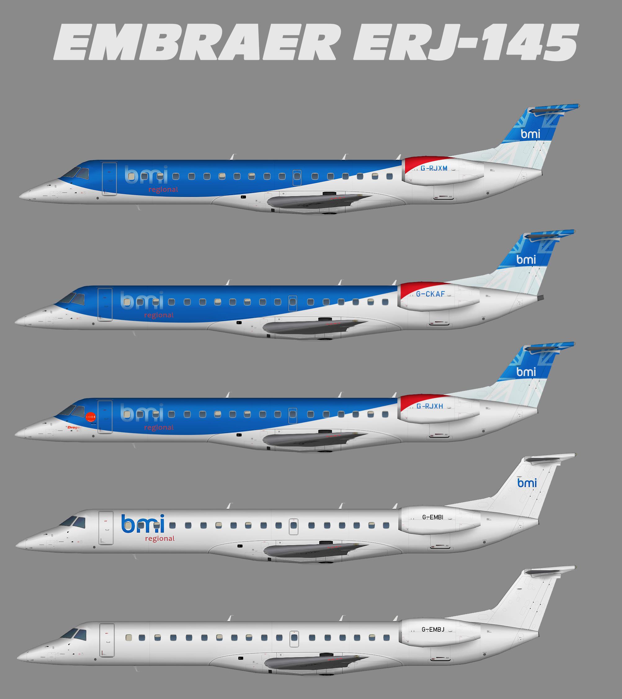 bmi Regional Embraer ERJ-145