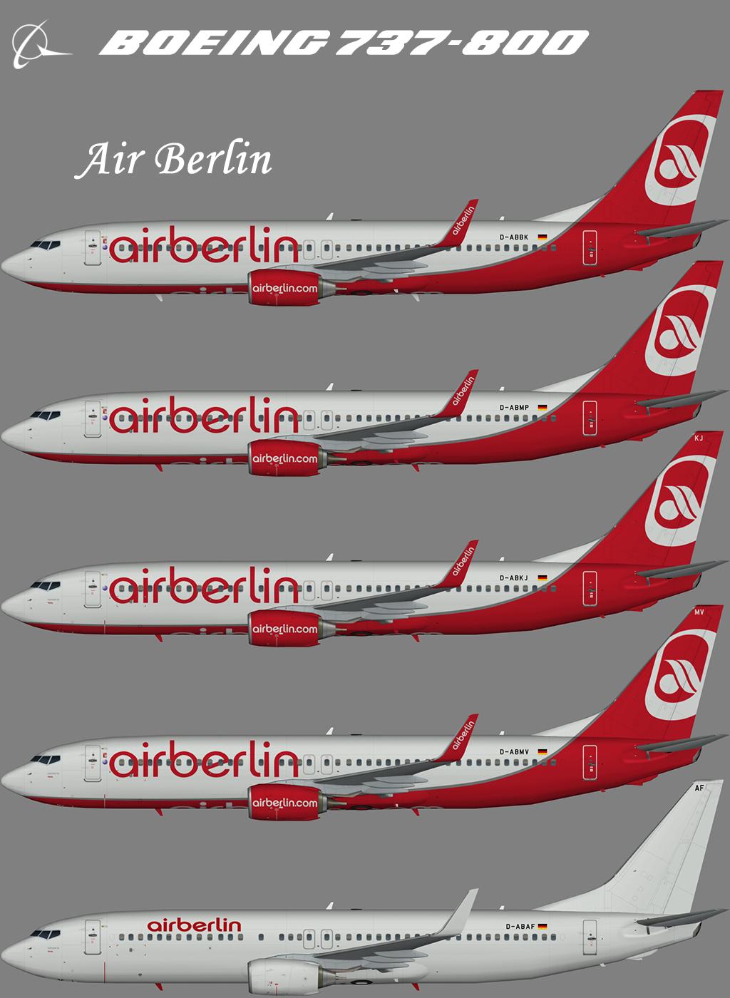 Air Berlin Boeing 737-800 – Nils