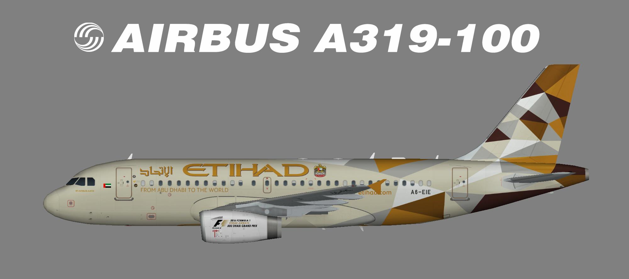 Etihad Airbus A319-100 – Nils
