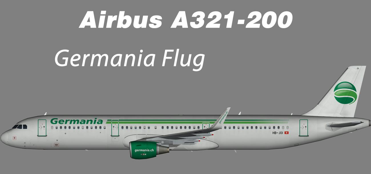 Germania Flug Airbus A321-200 – Nils