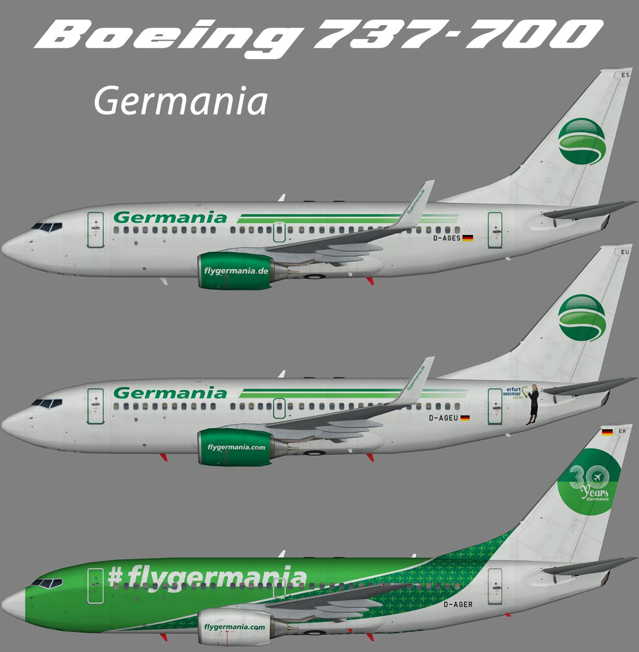 Germania Boeing 737-700 – Nils