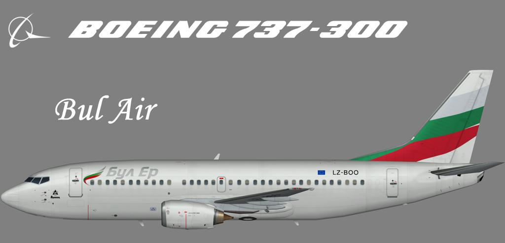 Bul Air Boeing 737-300 – Nils