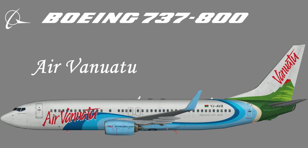 Air Vanuatu Boeing 737-800 – Nils