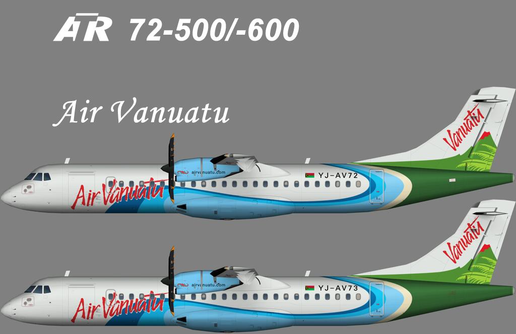 Air Vanuatu ATR 72 – Nils