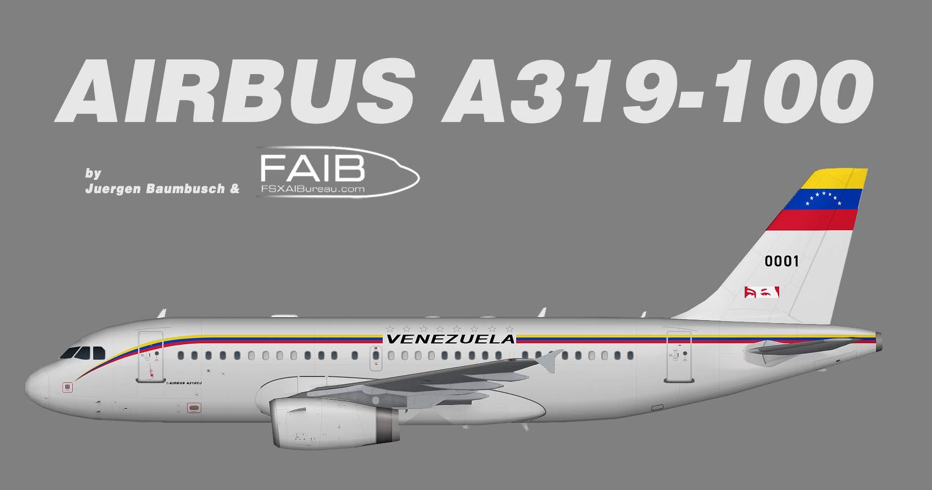 Venezuelan Government Airbus A319-100CJ VIP Transport