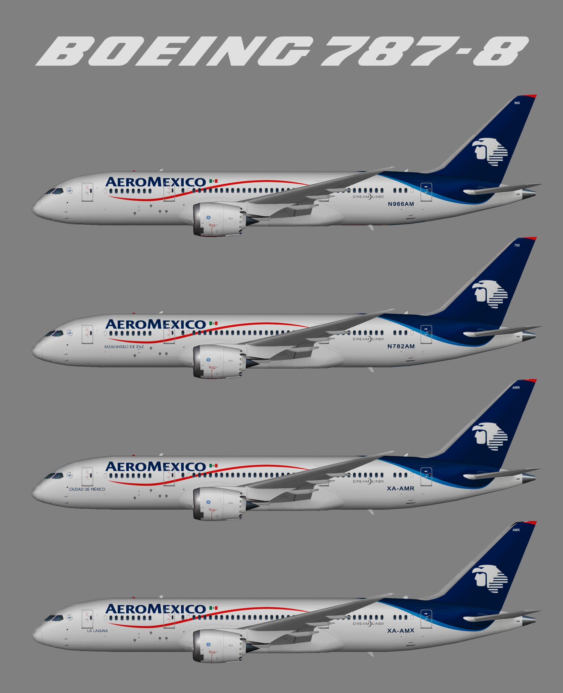 Aeromexico Boeing 787-8