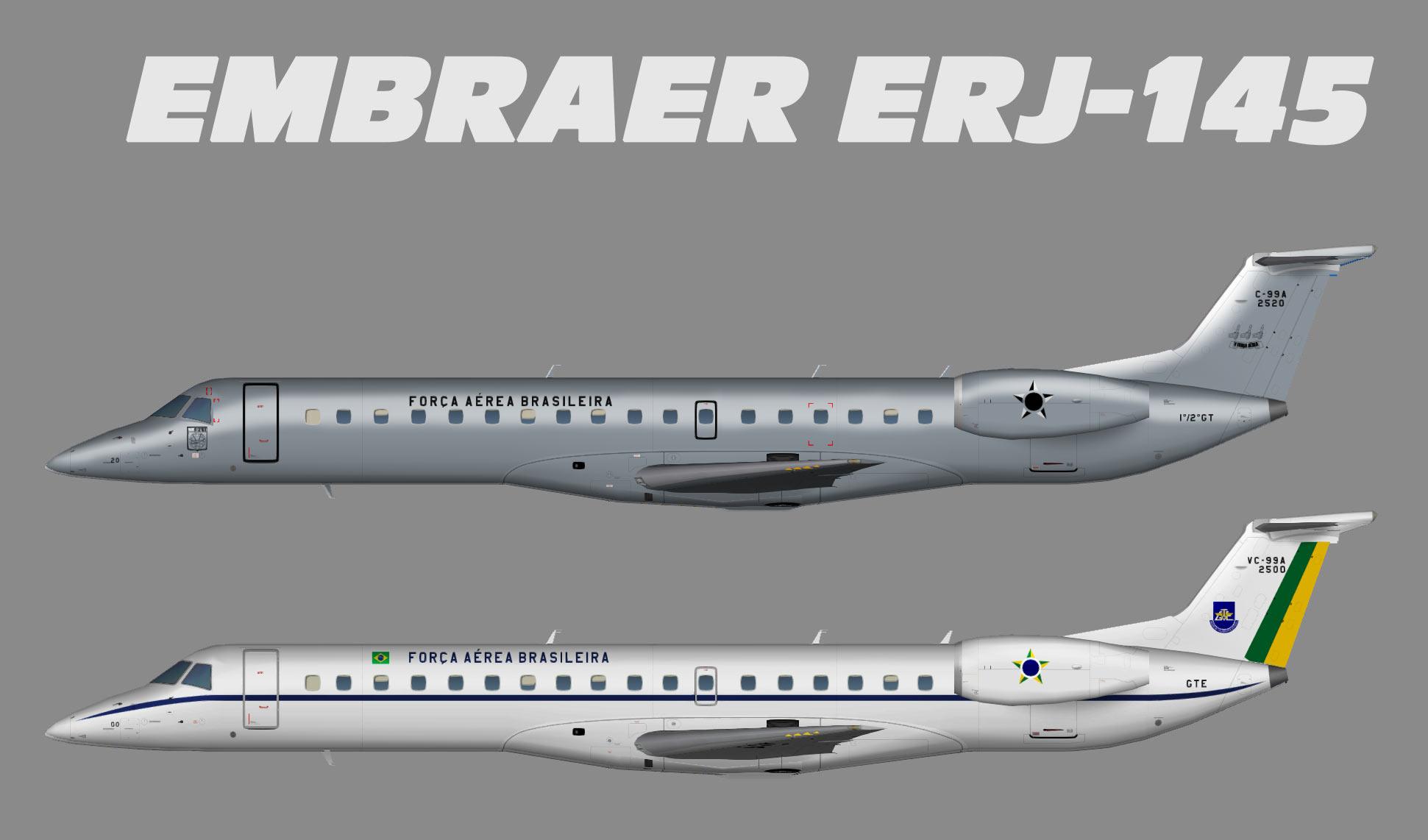 Forca Aerea Brasiliera Embraer ERJ-145 – Alexandre Alves