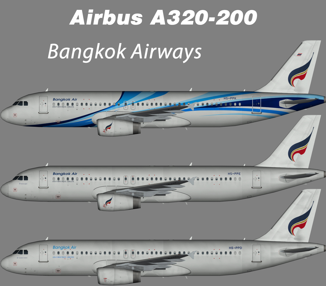 Bangkok Airways Airbus A320-200 – Nils