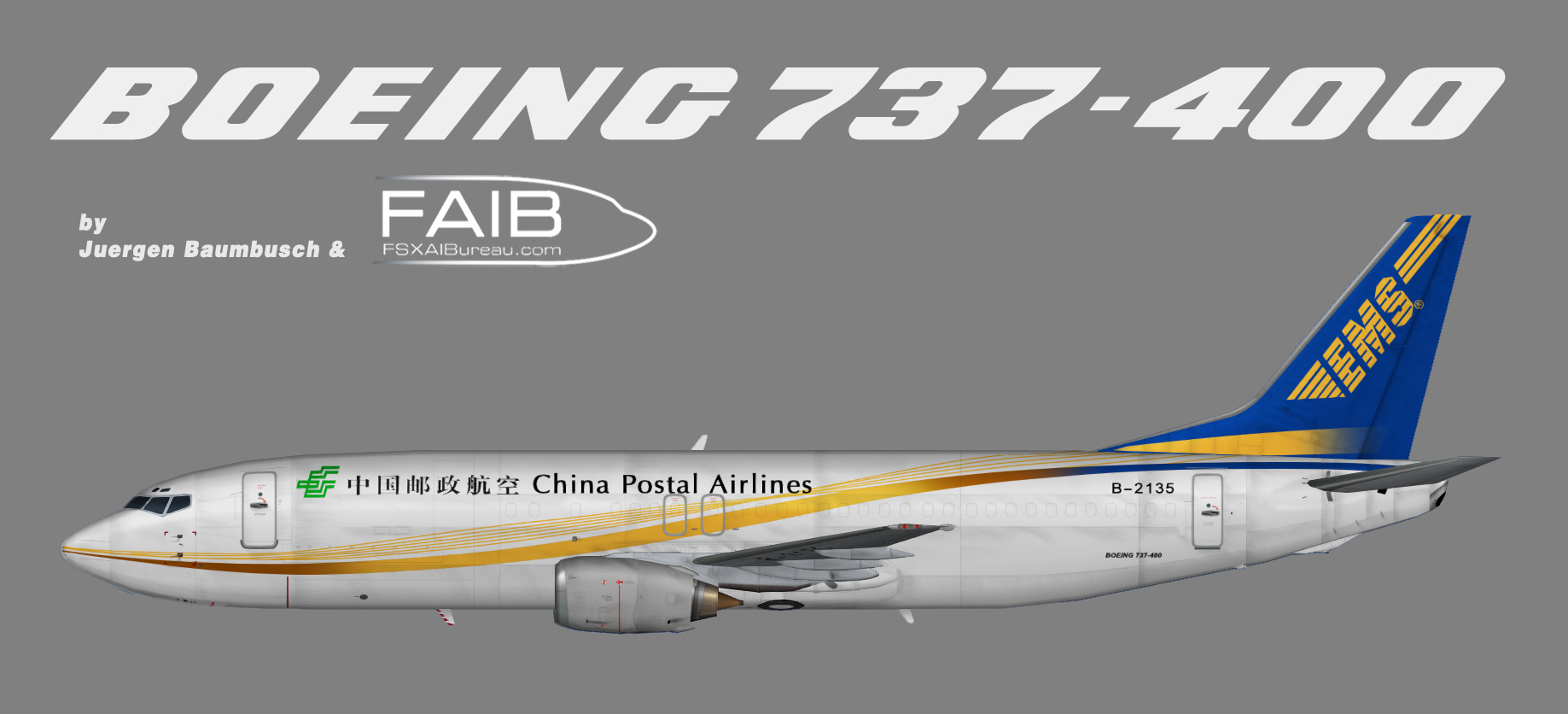 China Postal Airlines Boeing 737-400