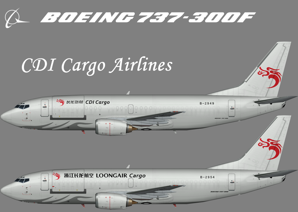 Loong Air Boeing 737-300F – Nils