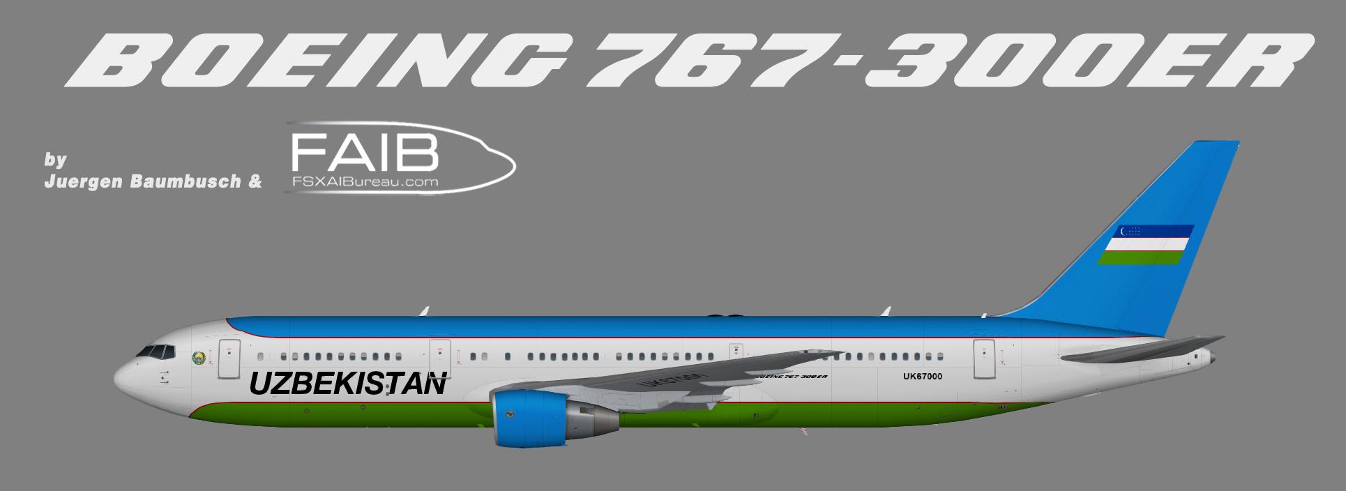 Uzbekistan Government Boeing 767-300