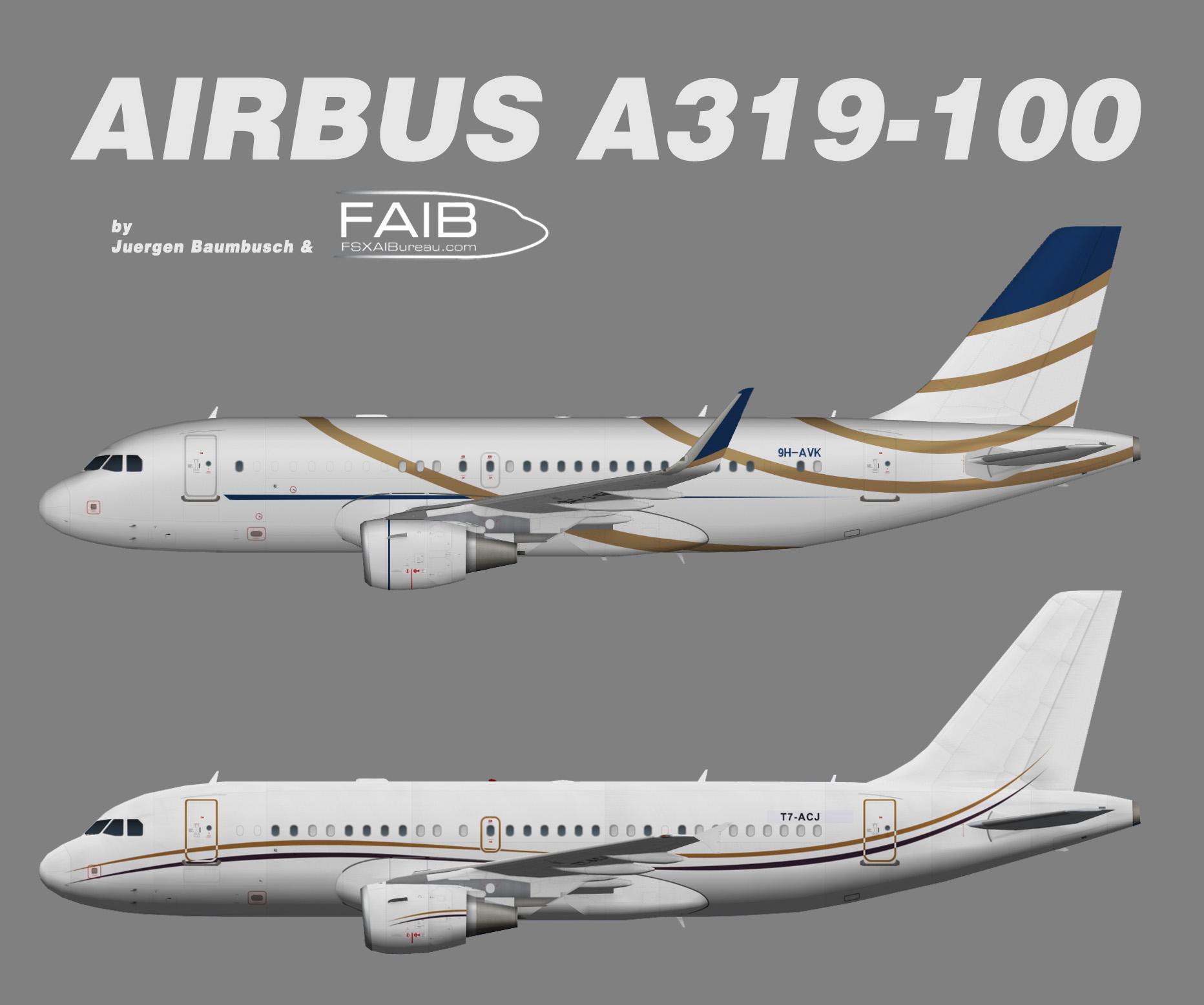 Comlux Malta Airbus A319-100CJ