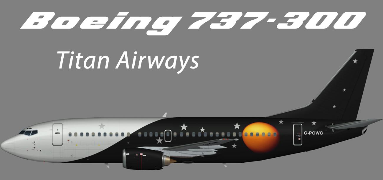 Titan Airways Boeing 737-300 – Nils