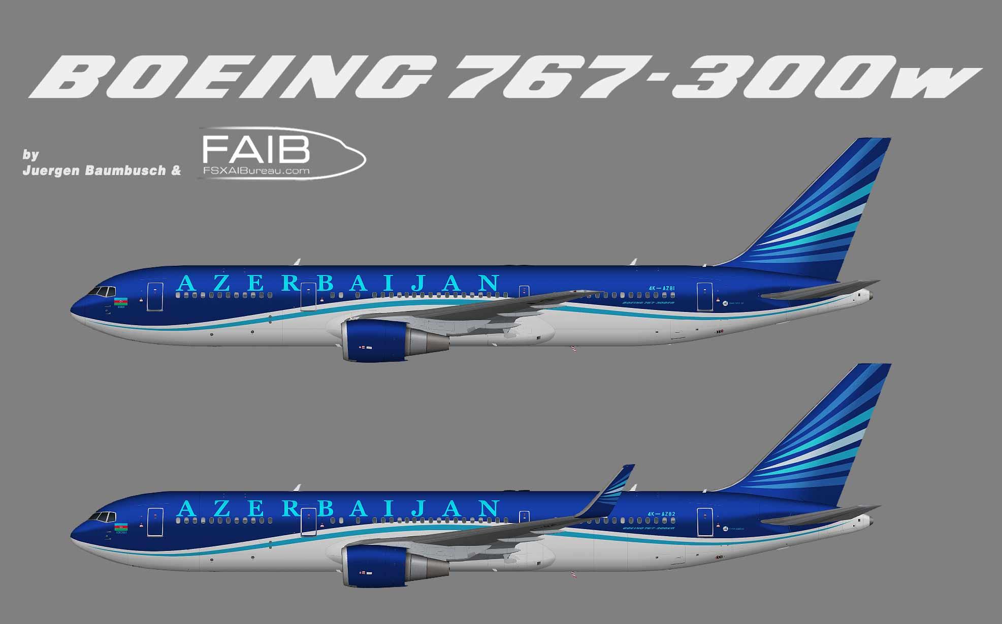 Azerbaijan Airlines (AZAL) Boeing 767-300ER