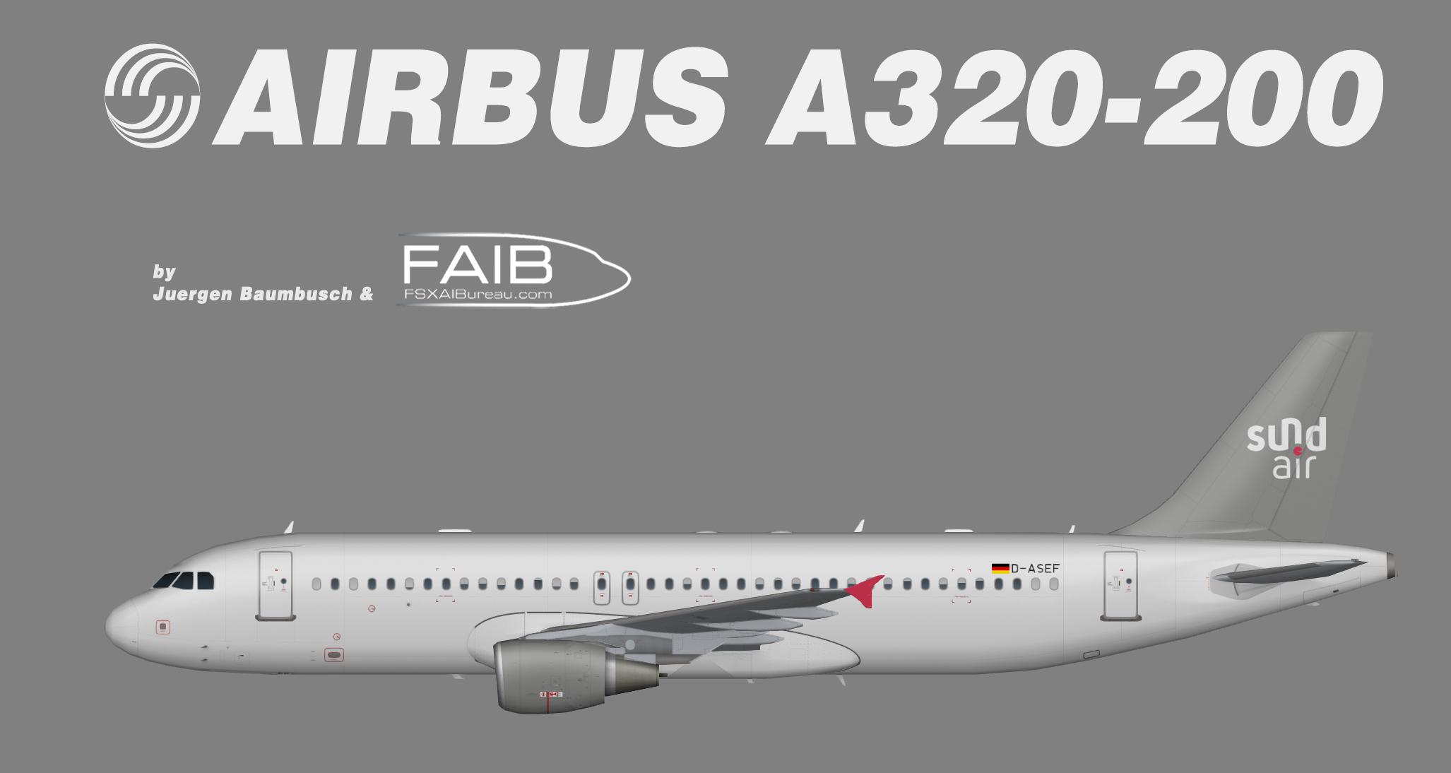 SundAir Airbus A320-200