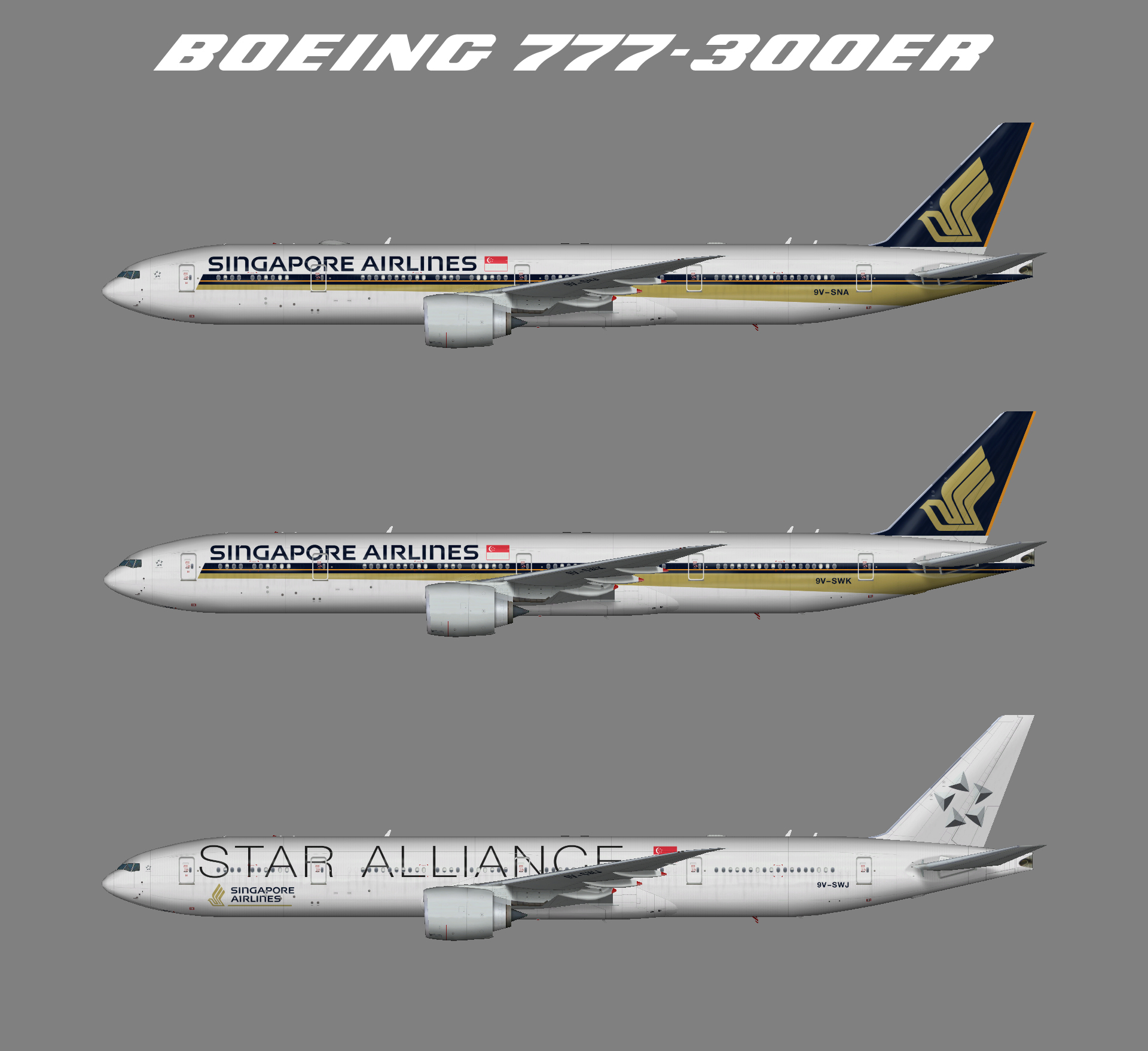 Singapore Airlines – Juergen's paint hangar