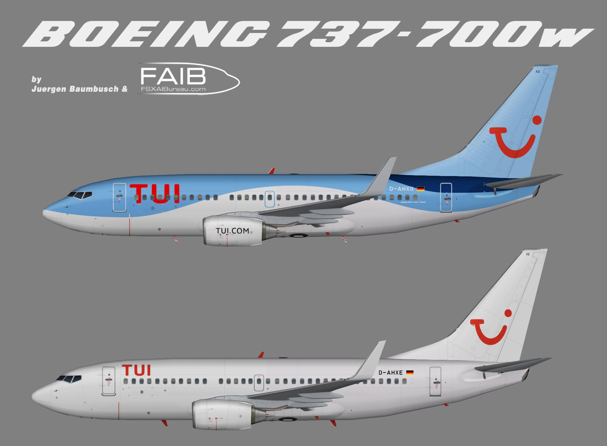Tuifly Boeing 737-700w NC revised