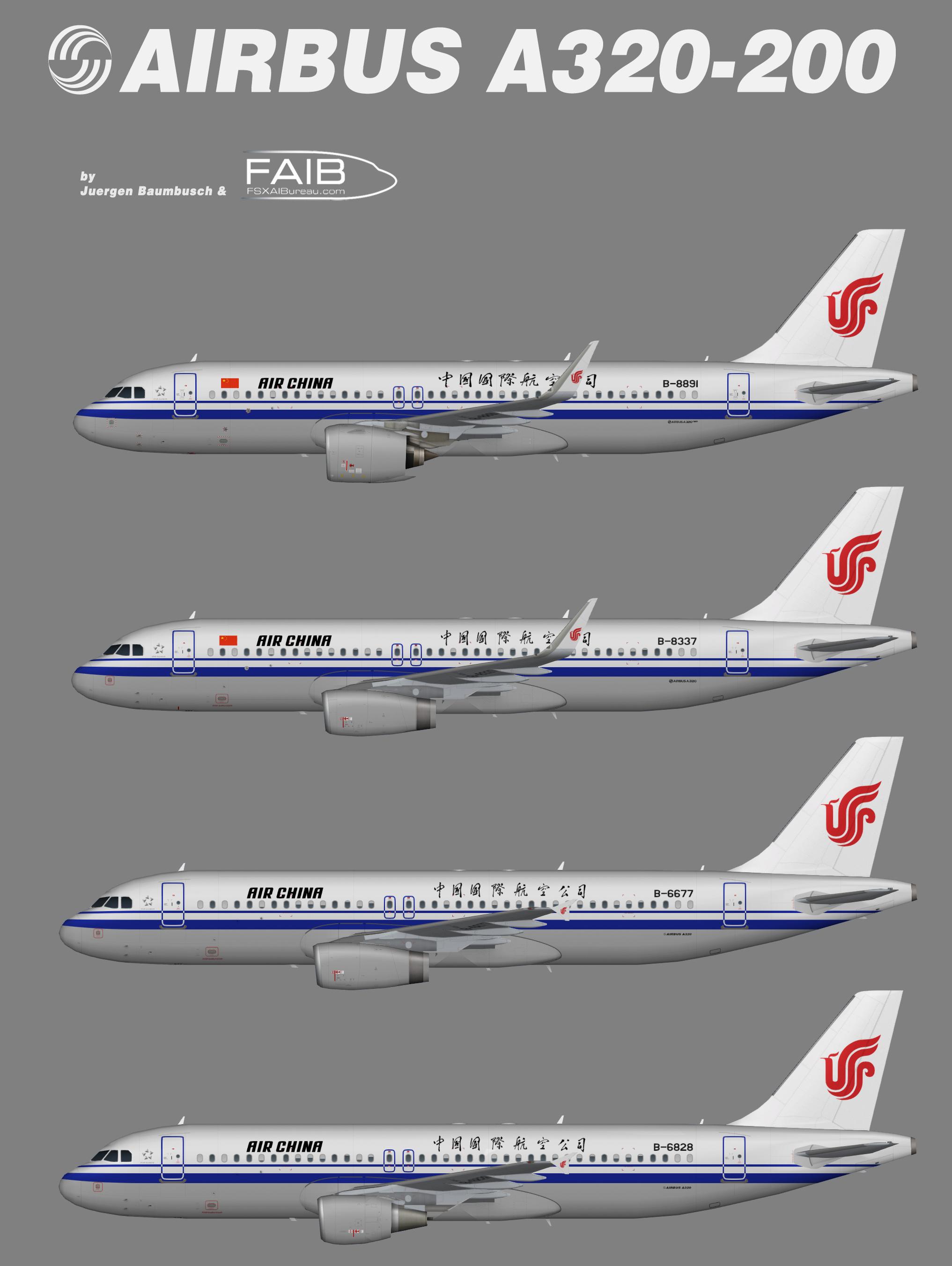 Air China Airbus A320-200