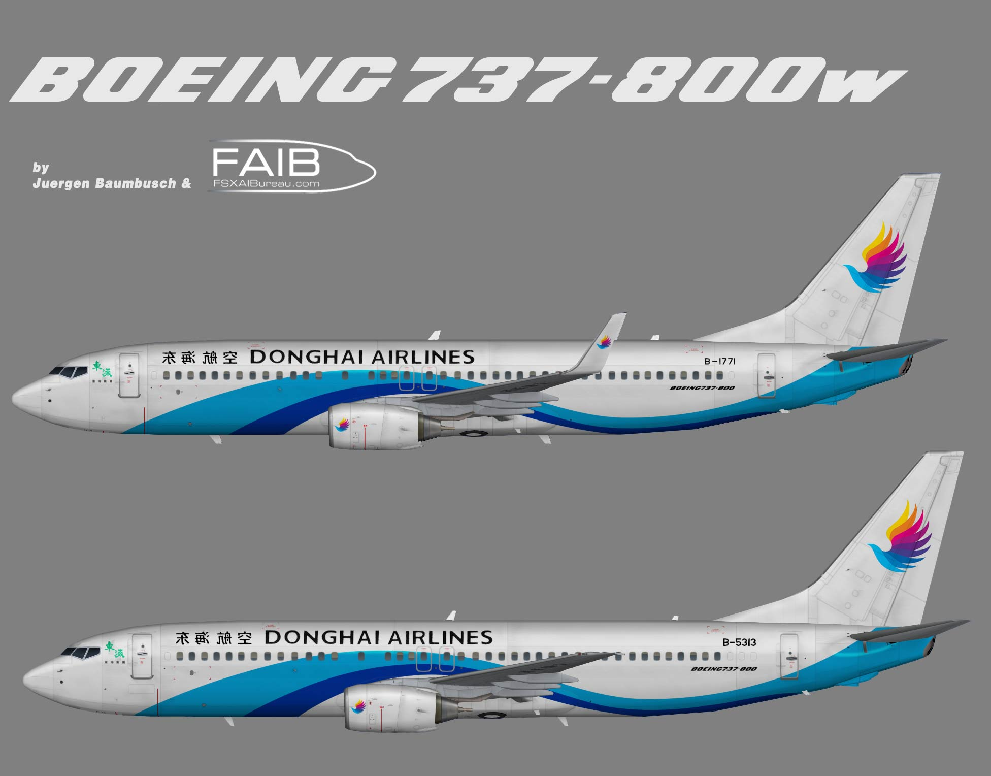 Donghai Airlines Boeing 737-800q