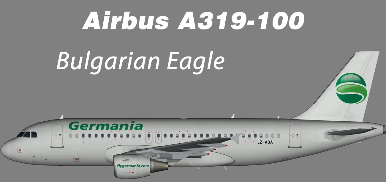 Bulgarian Eagle Airbus A319-100 – Nils
