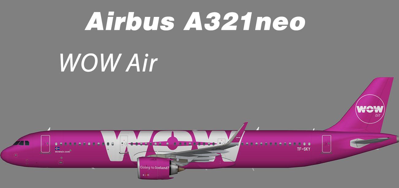 WOW Air Airbus A321neo – Nils