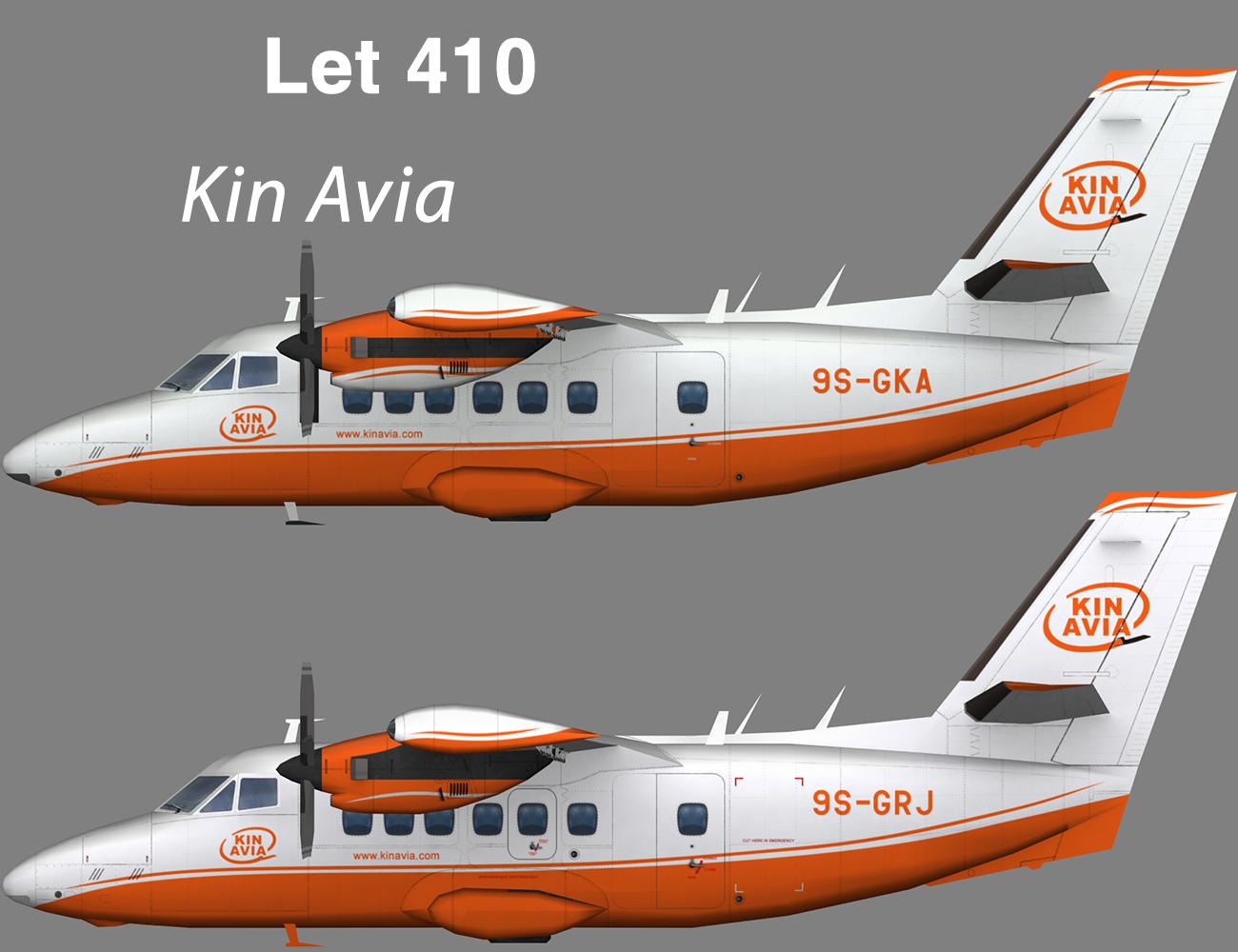 Kin Avia Let 410 – Nils