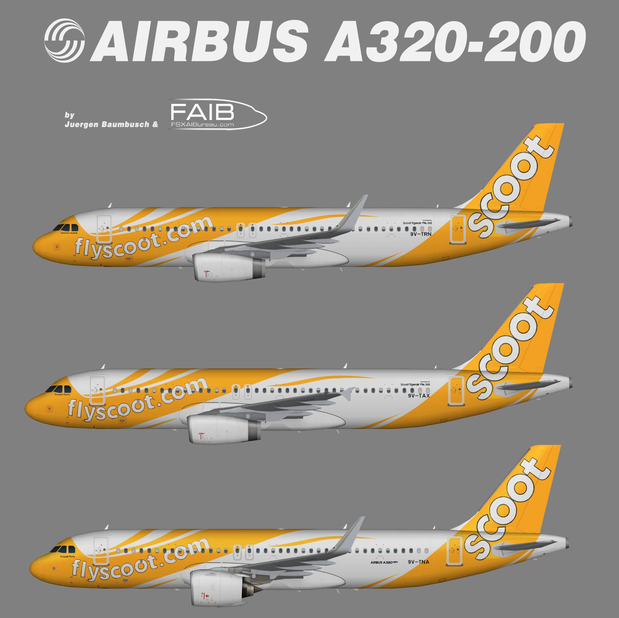 Scoot Airbus A320-200