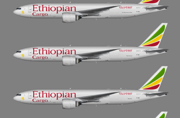 TFS Ethiopian Airlines Cargo Boeing 777-200F