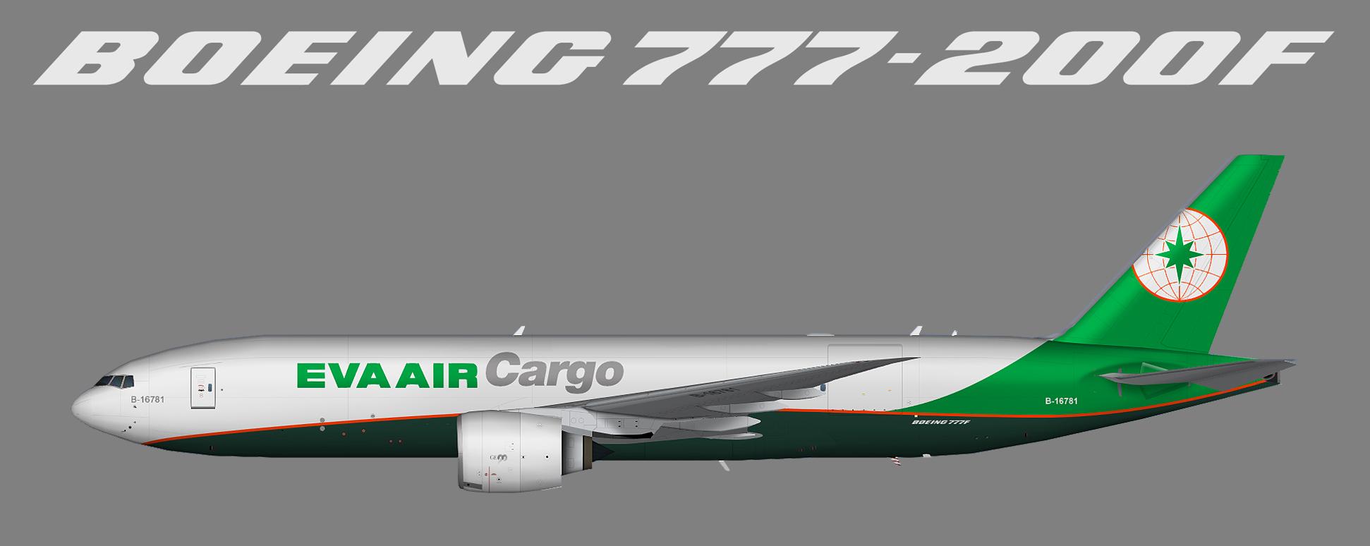 EVA Air Cargo Boeing 777F