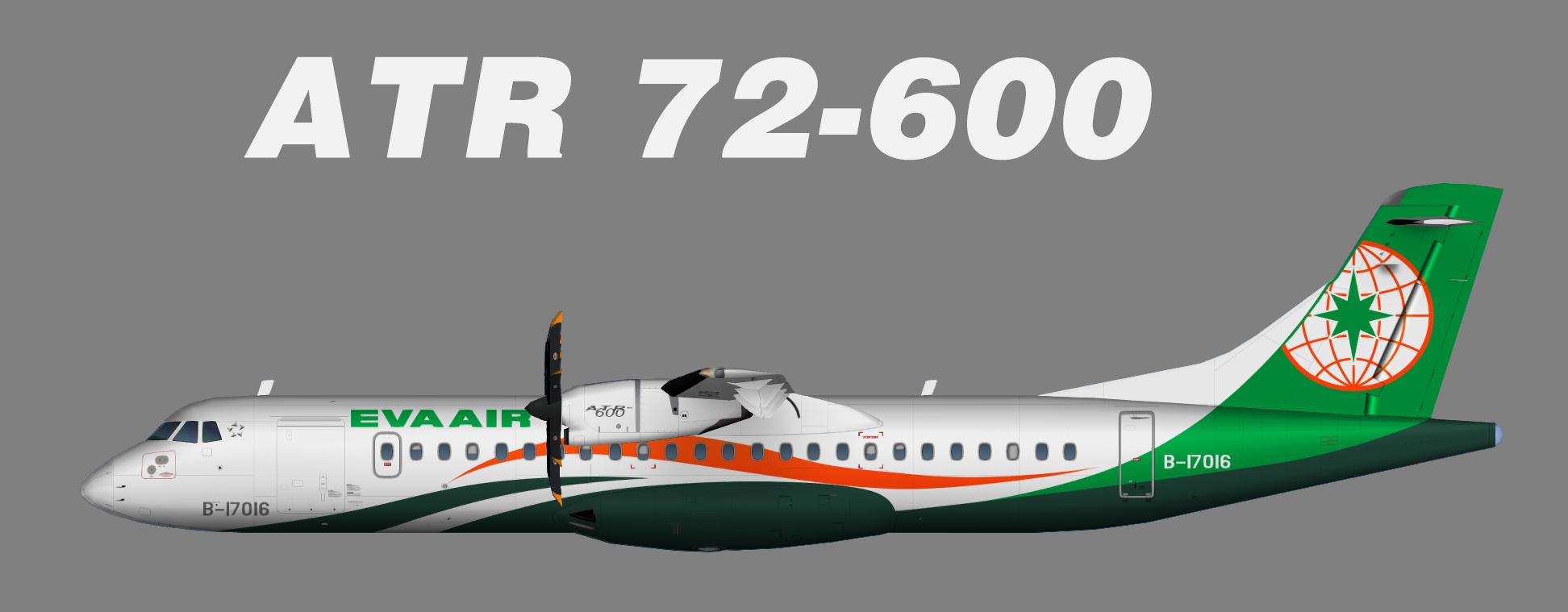 Eva Air ATR72-600 (opf UNI Air)